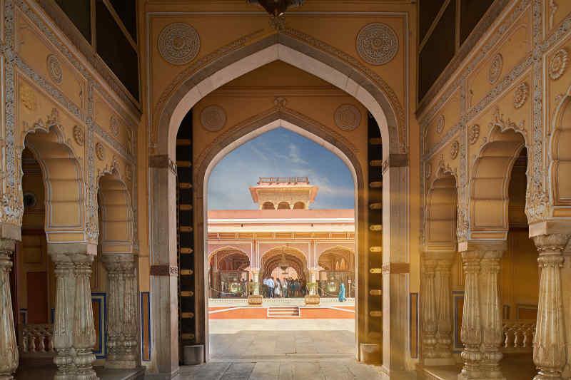 Mubarak Mahal in Jaipur, India