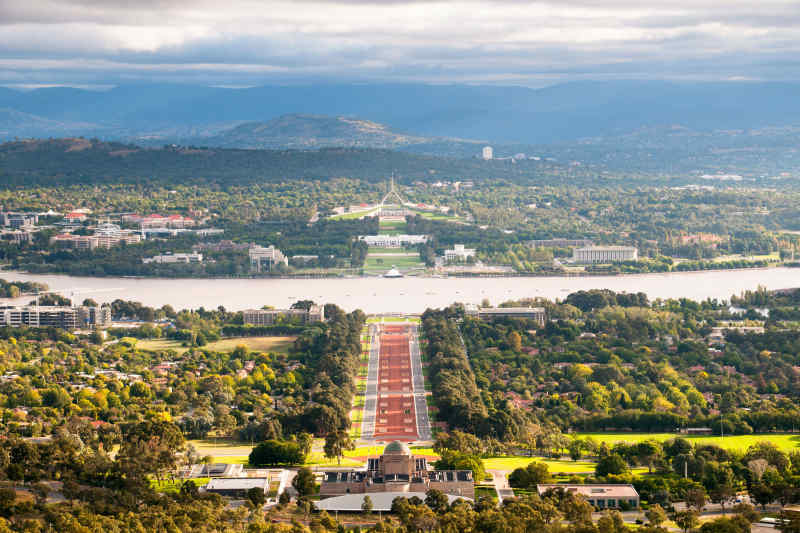View from Mount Ainslie • Canberra, Australia