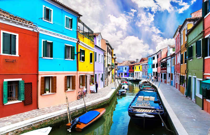 Colorful Cities: Burano, Italy