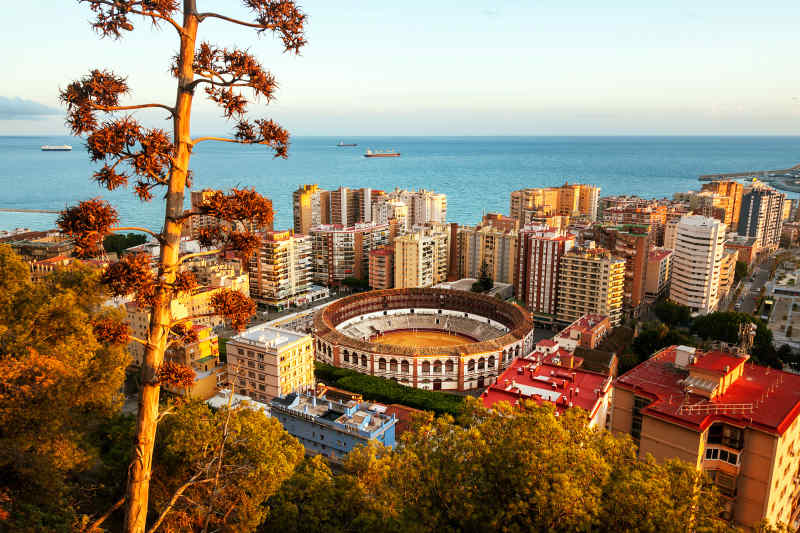 Malaga in Spain