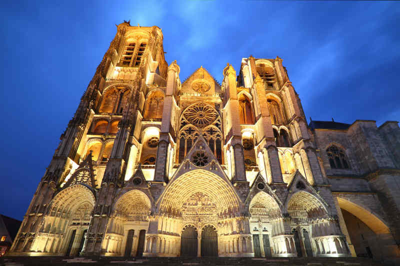 Saint Etienne Cathedral • Bourges, France