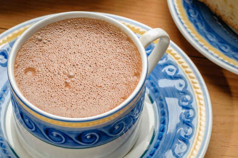 Traditional Mexican hot chocolate