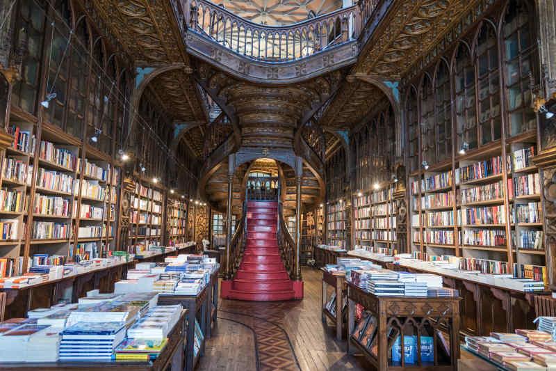 Livraria Lello • Porto, Portugal