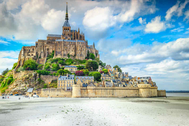 Mont-Saint-Michel, France