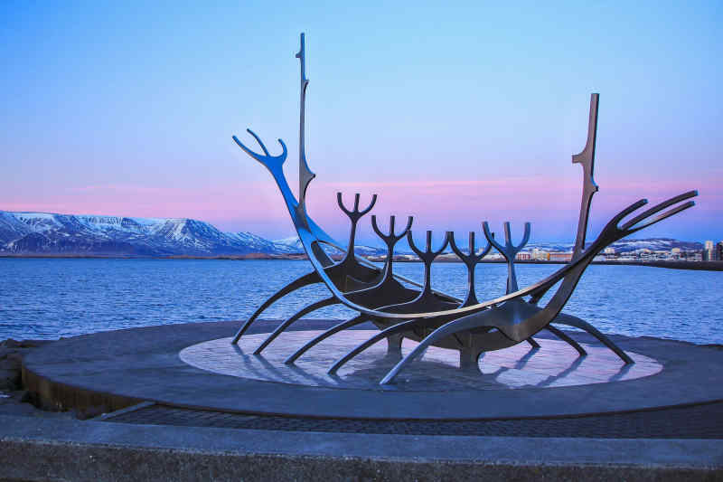 Sun Voyager Monument