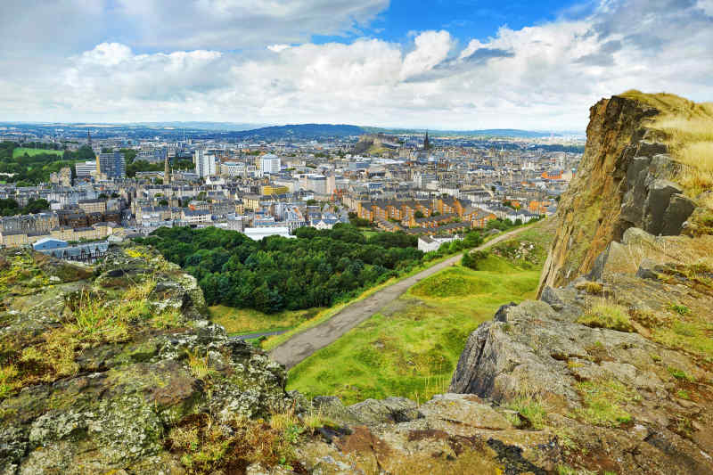 Arthur's Seat, Edinburgh, Scotland