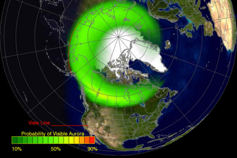 Aurora Forecast Application