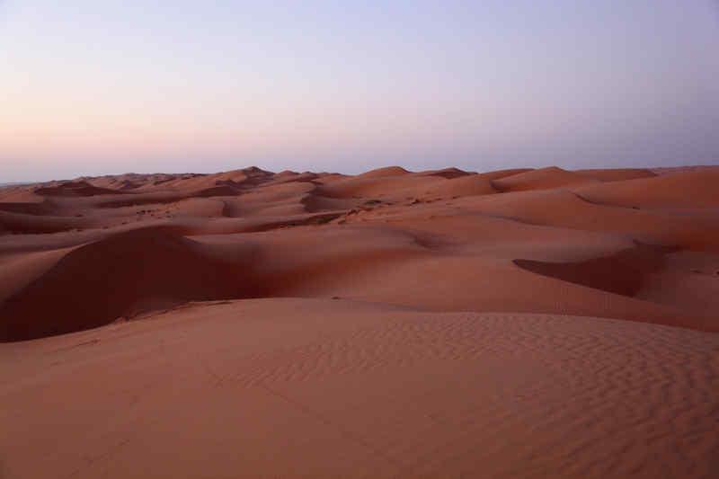 Sharqiya sand dunes