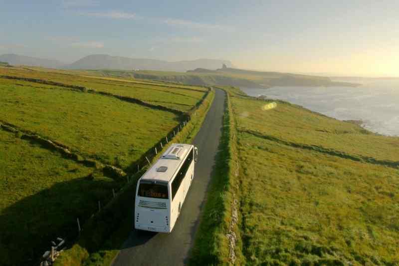 Bus tour of Ireland