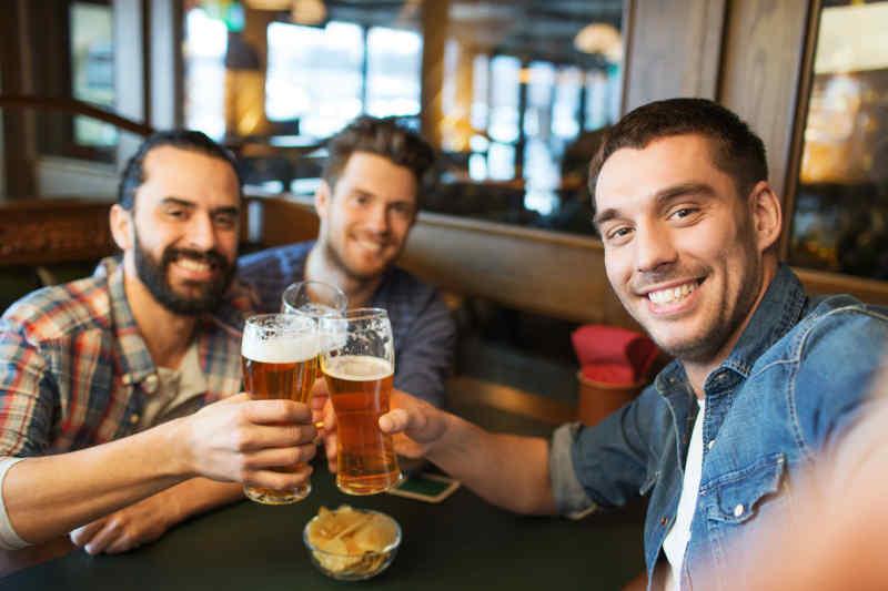 Lads in a Pub