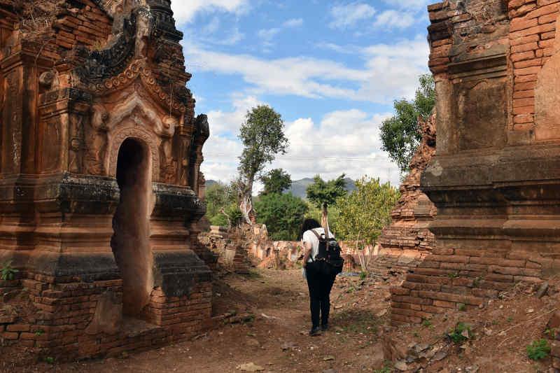 Indein Village Ruins