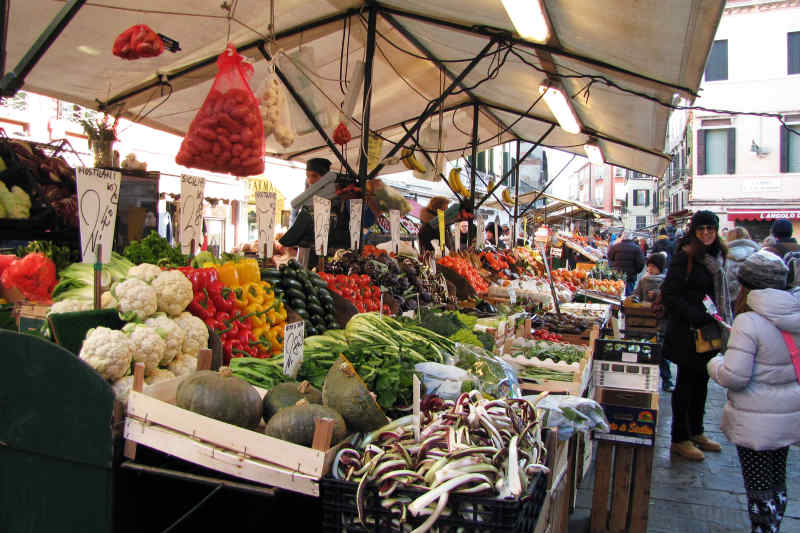 Market in Venice, Italy