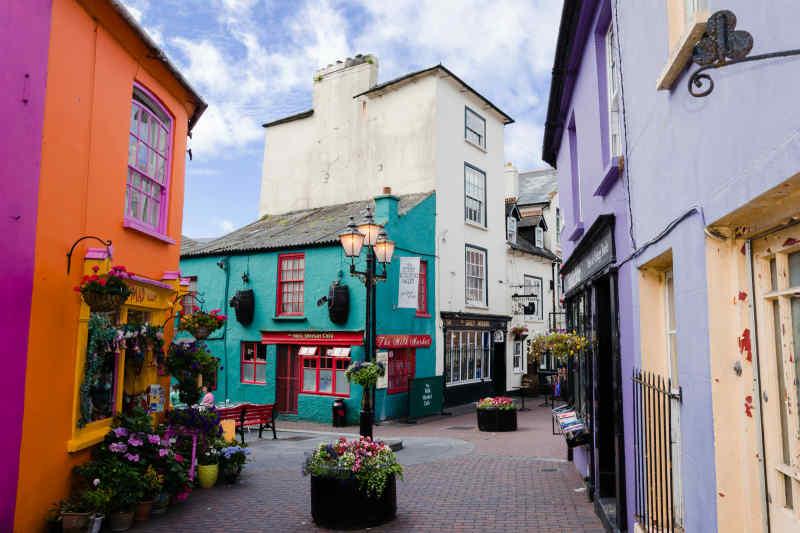 Village Square in Kinsale, Ireland