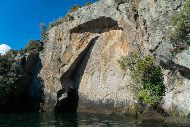 Māori carvings