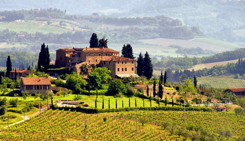 Travel to Tuscany in Italy
