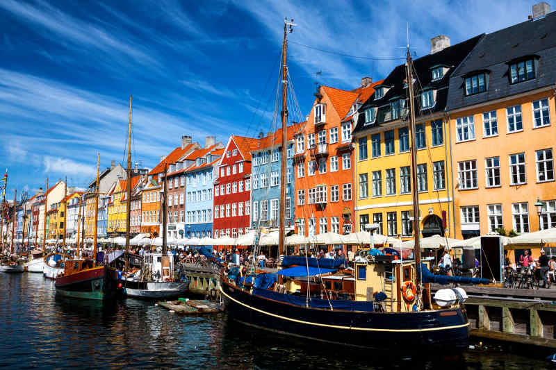 Colorful Cities: Copenhagen, Denmark