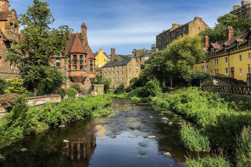 Dean Village near Edinburgh