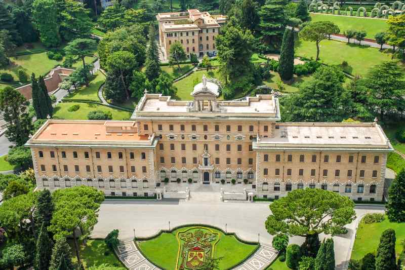 the Vatican City in Italy