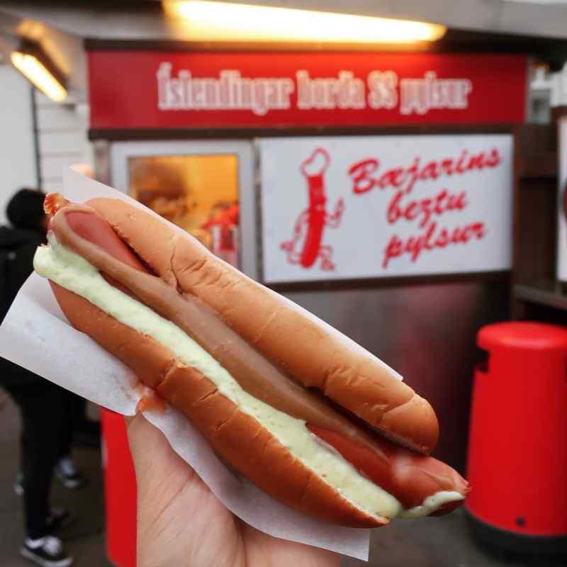 Icelandic Hot Dog from Baejarins Beztu Pylsur