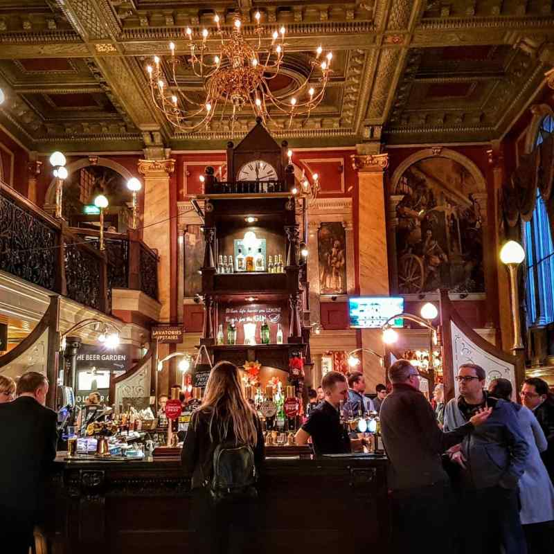 Old Bank of England pub in London