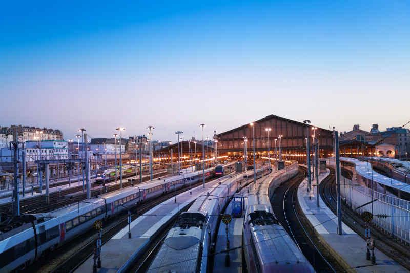 Gare du Nord trains