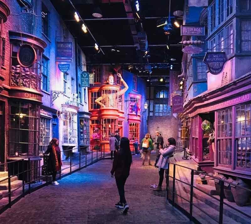 Warner Bros. Harry Potter Studio in Watford, England