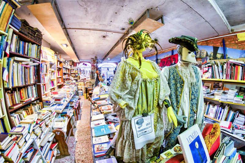 Libreria Acqua Alta • Venice, Italy
