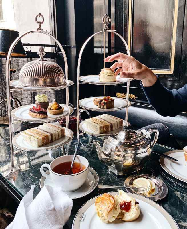 Afternoon Tea at The Wolseley in London