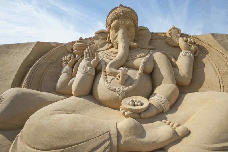 Hindu god Lord Ganesh