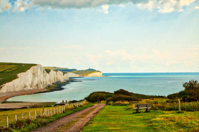 Seven Sisters Cliffs • East Sussex, England