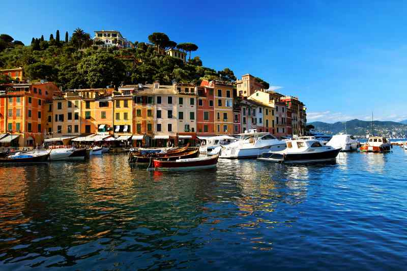 Travel to Portofino in Italy