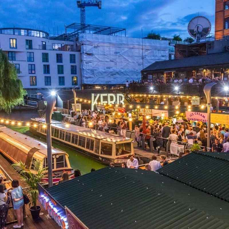 KERB Camden Market in London, England