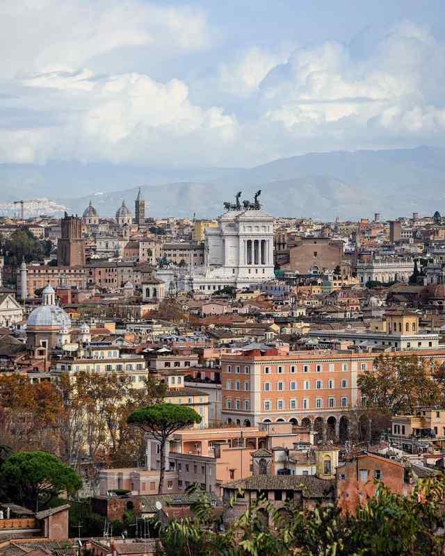 Terrazza Gianicolo in Rome, Italy