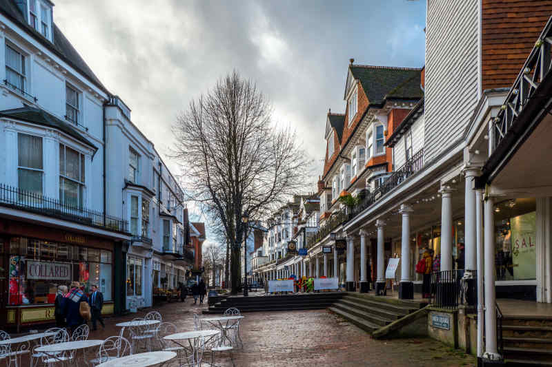 Pantiles at Tunbridge Wells