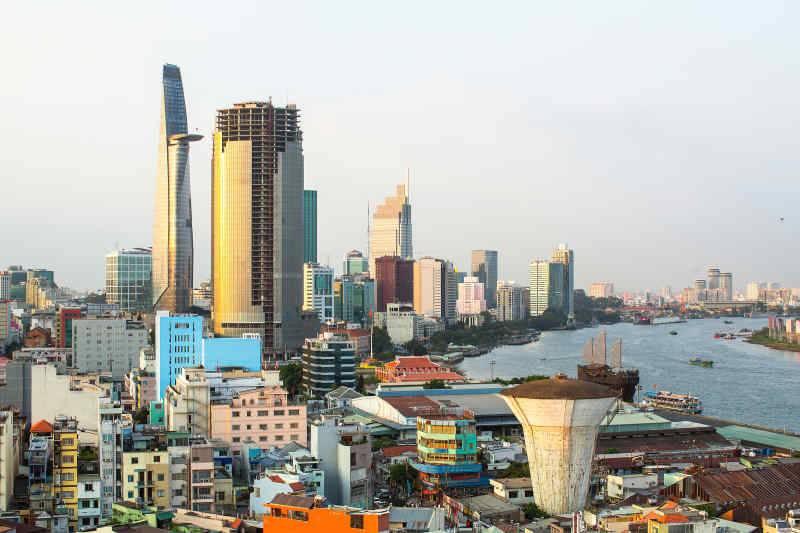 Travel to Ho Chi Minh City in Vietnam