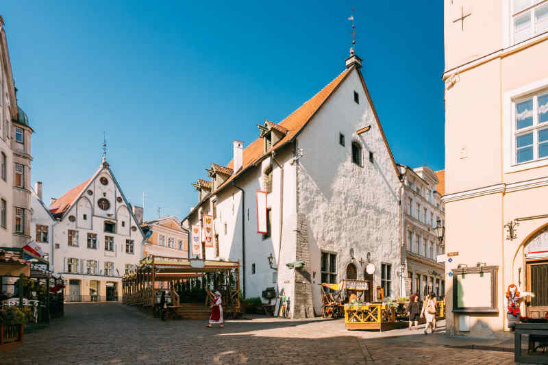 Travel to Tallinn in Estonia