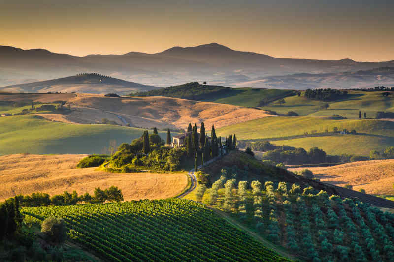 Travel to Siena in Italy