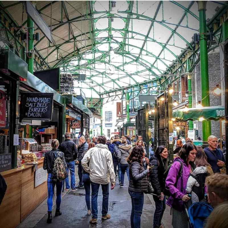 Borough Market, London. Photo by Instagram user @boroughmarket