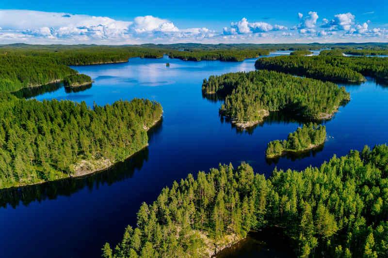 Islands in Finland