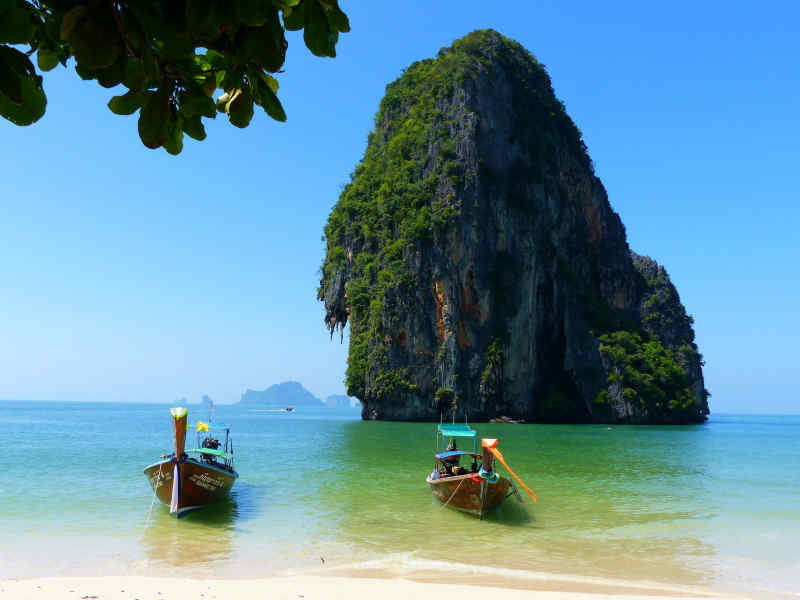 Beach in Krabi, Thailand