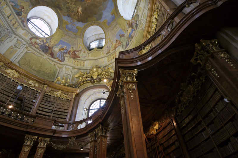 Austria National Library in Vienna, Austria