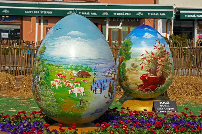 Croatian Easter Egg