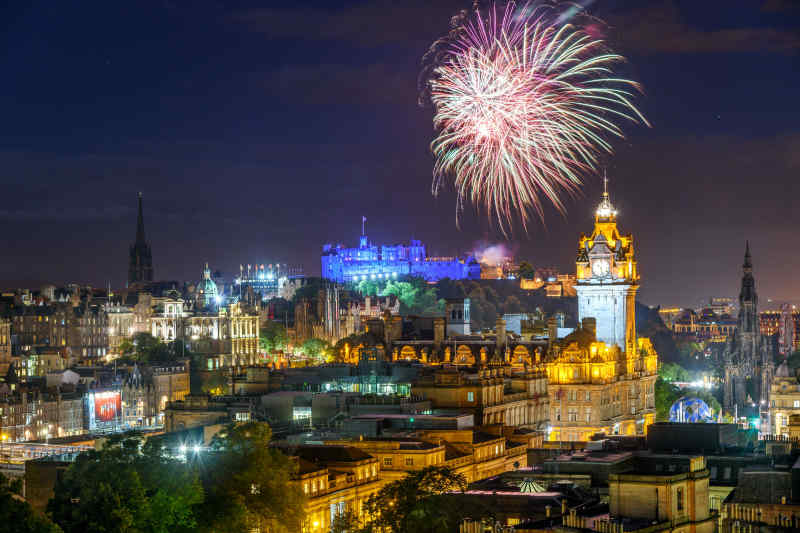Edinburgh Fringe Festival Night