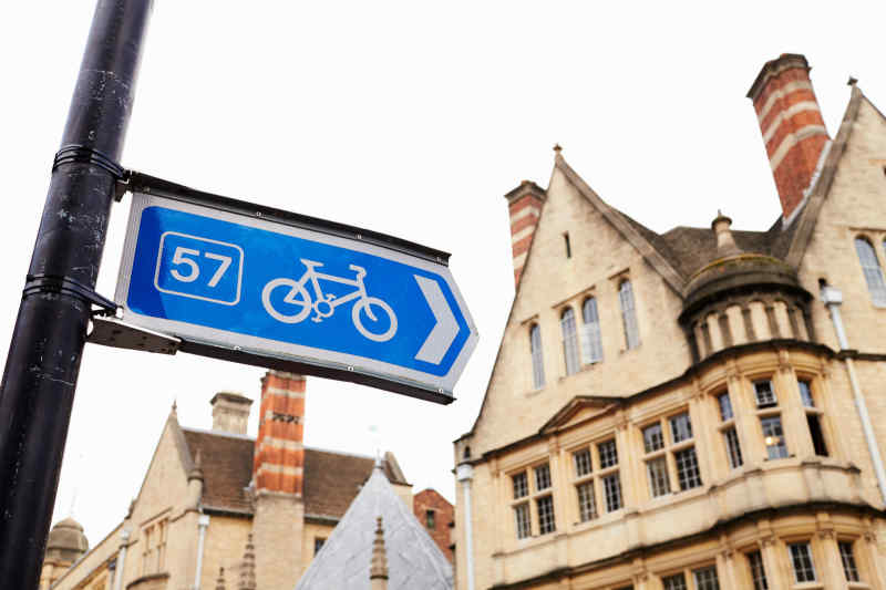 Oxford bicycle path
