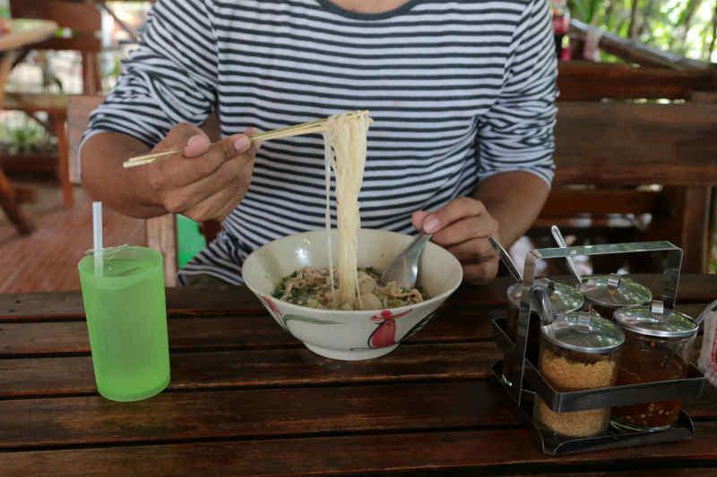 Using Chopsticks for Soup