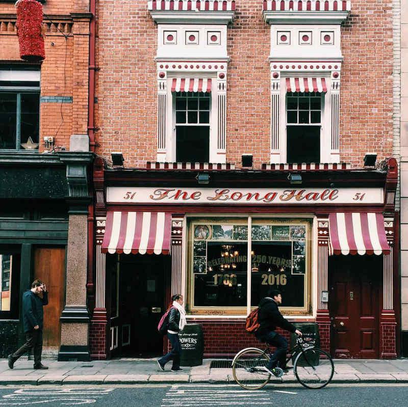 The Long Hall in Dublin