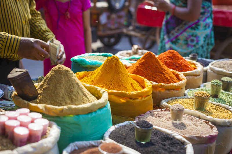 Delhi Spice Market, India