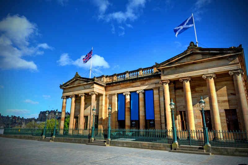 Scottish National Gallery in Edinburgh