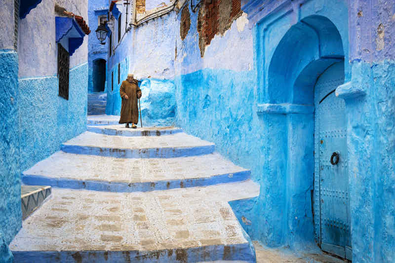 Colorful Cities: Chefchaouen, Morocco