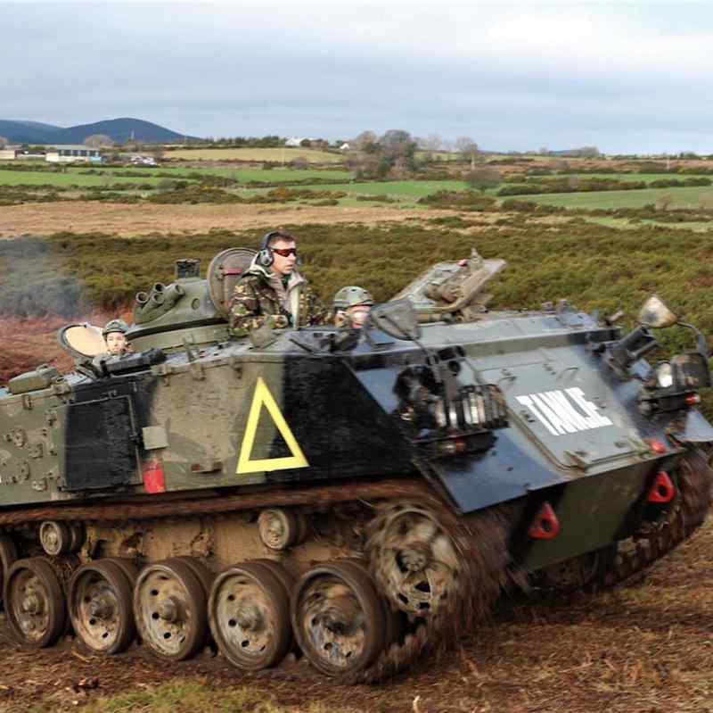 tank driving @dav3irl